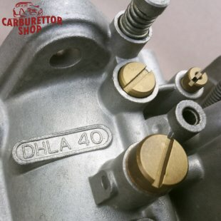 Overhauled Dellorto Carburetors