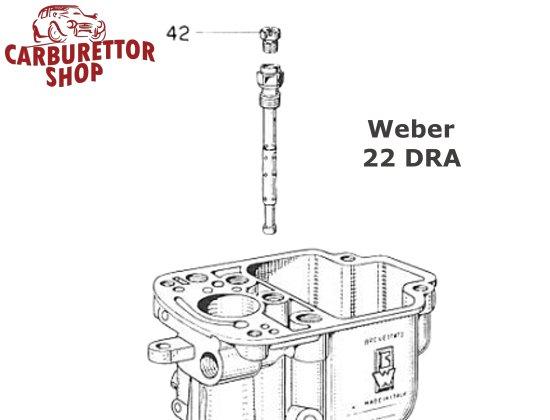 Weber Dra Carburetor Air Corrector Jet Drawing on Vintage Zenith Carburetors